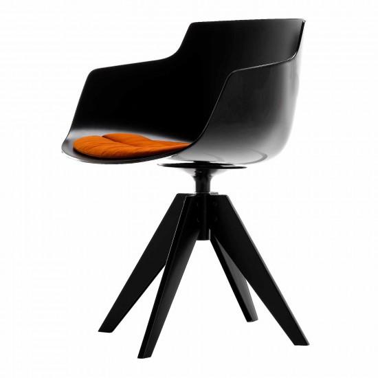 MDF Italia Flow Slim 4 Füsse VN Stahl Stuhl 37_F054100-3