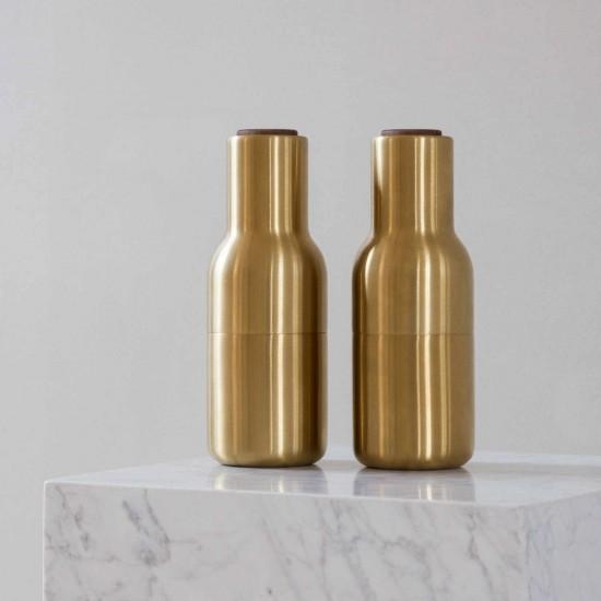 Menu Bottle Salz und Pfeffermühle Messing Edition 39_44158X9