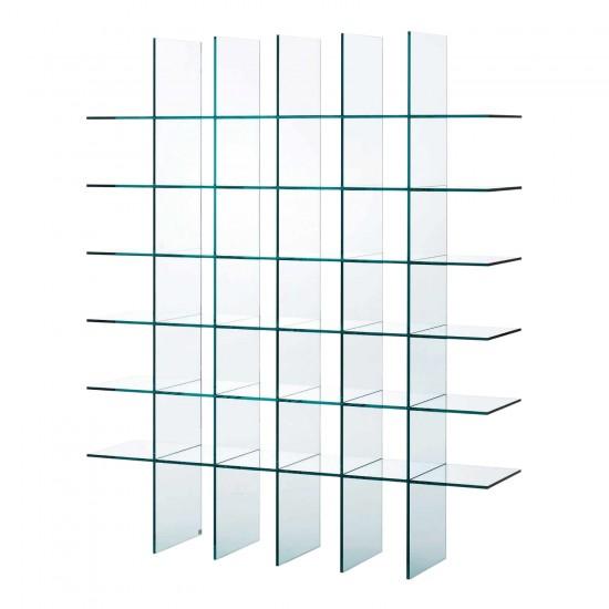 Glas Italia Glass Shelves #1 (1976) Bücherregal 42_KUS