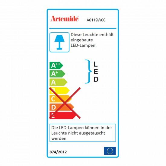 Artemide Tolomeo Micro LED Tischleuchte 44_A0119W00T