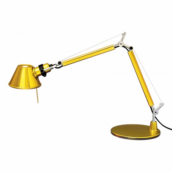 Artemide Tolomeo Micro Gold Limited Edition Tischleuchte 44_AS01180023