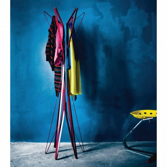 Zanotta aster garderobe bruno for Garderobe italienisches design
