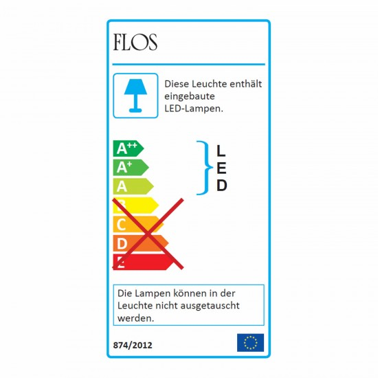 Flos Bon Jour Unplugged LED Akku-Tischleuchte 89_F1037000