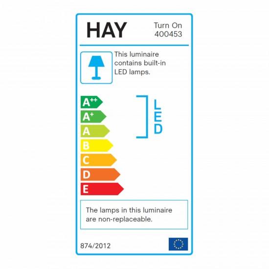 Hay Turn On LED Tischleuchte 95_TURN-ON