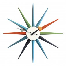 Vitra Sunburst Clock Wanduhr Ausstellungsstück 20_20125300_03_O