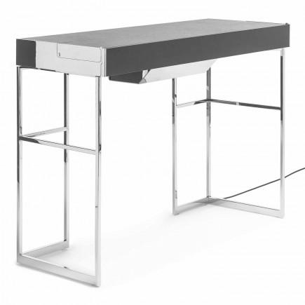 YOMEI Magic Desk Chrome Edition Sekretär Schreibtisch 100_MAGIC-DESK-2