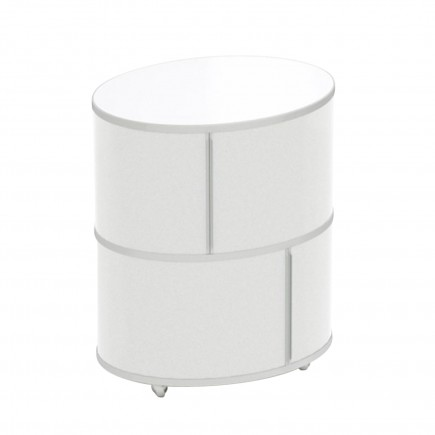 WOGG LIVA Ellipsetower Rollcontainer 105_17-0X2