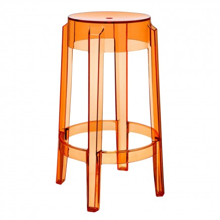 Kartell Charles Ghost Hocker 112_0489X