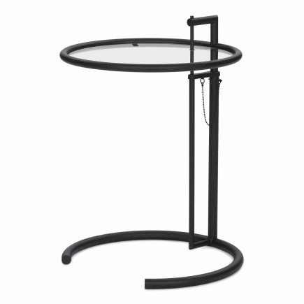 ClassiCon Adjustable Table E 1027 Black Version Beistelltisch 121_E1027-Black