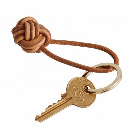 OYOY Living Design Keyring Knot Leder Schlüsselanhänger 122_11002
