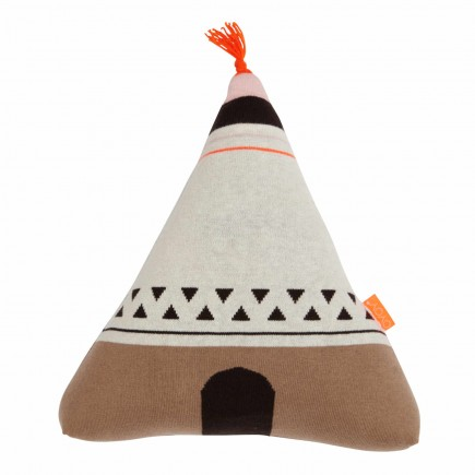 OYOY Living Design Wigwam Neonorange Kissen 122_1100391