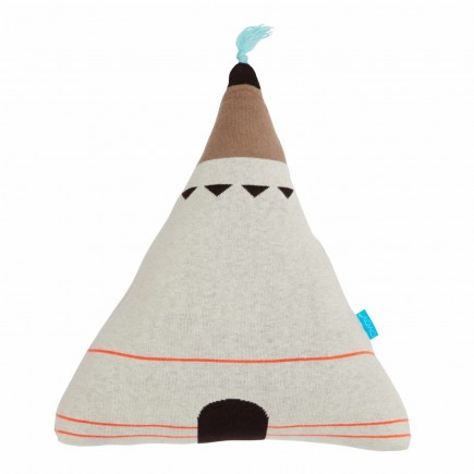 OYOY Living Design Wigwam Blau Top Kissen 122_1100392