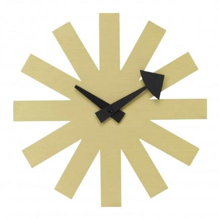 Vitra Asterisk Clock Messing Version Wanduhr 20_20125203