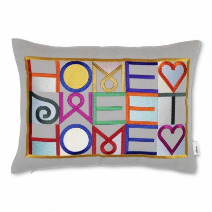 Vitra Embroidered Pillow Home Sweet Home Kissen 20_20163301
