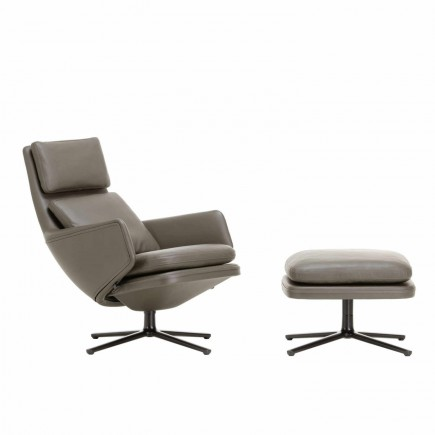 Vitra Grand Relax Ledersessel and Ottoman 20_21059200
