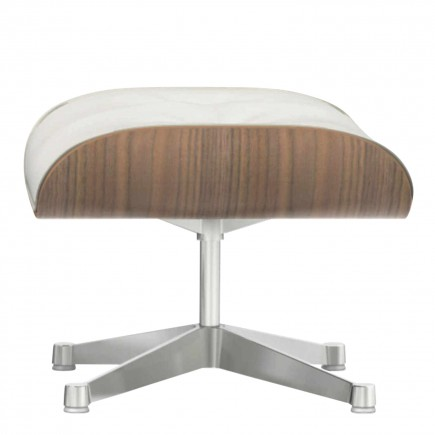 Vitra Lounge Chair Ottoman White Edition 20_41211800