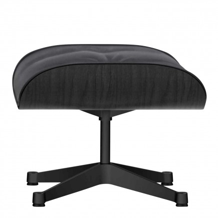 Vitra Lounge Chair Ottoman Black Edition 20_41212100