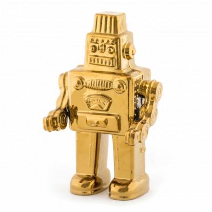 SELETTI Memorabilia Gold My Robots Skulptur 379_10412