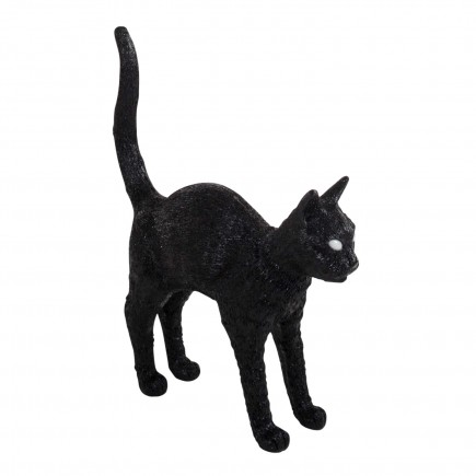 BLOW by JOBandSELETTI Jobby black Cat Lamp Akku-Tischleuchte 380_15041