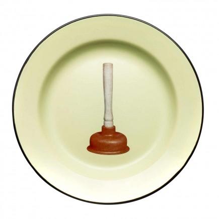 SELETTI Enamel Plates Toiletpaper Speiseteller 379_1684X