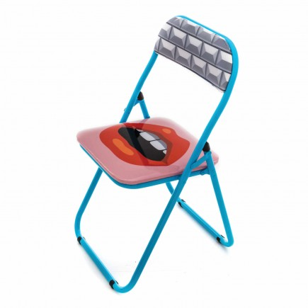 BLOW by JOBandSELETTI Mouth Folding Chair Klappstuhl 380_18561