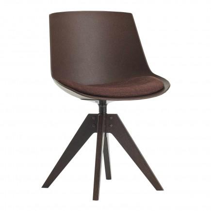 MDF Italia Flow Chair Eco 4 Füsse VN Eiche Stuhl 37_F052120