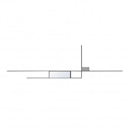 MDF Italia Mirror Lines Composition 4 Wandspiegel 37_F101904