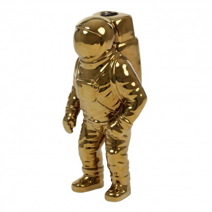 DIESEL LIVING with SELETTI Starman Gold Cosmic Diner Vase 381_10933