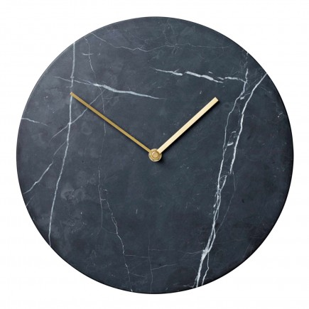 Menu Marble Wall Clock Wanduhr 39_8200X39