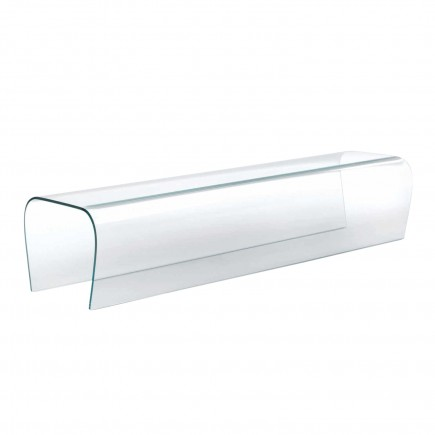 Glas Italia Bent Glass Bench Bank 42_BEB01
