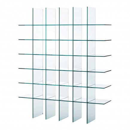 Glas Italia Glass Shelves #1 (1976) Bücherregal 42_KUS