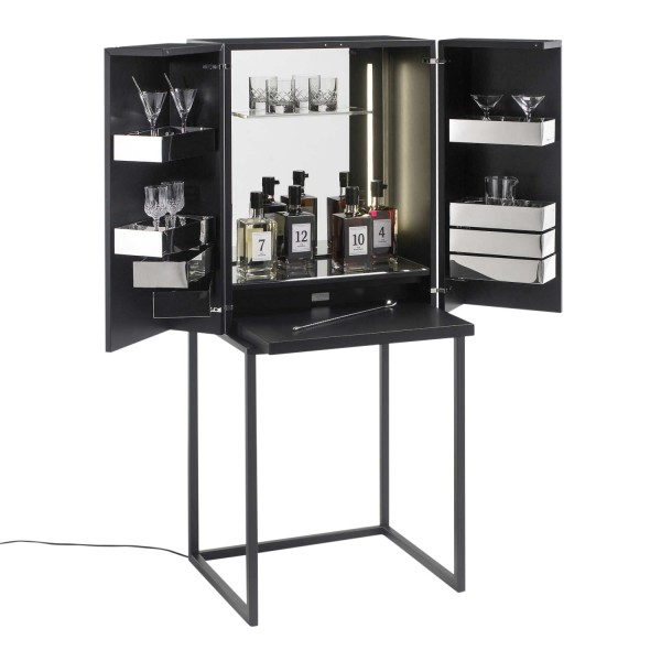 YOMEI Magic Cube Bar S Black Edition Barschrank 100_MAGIC-CUBE-B-S-2