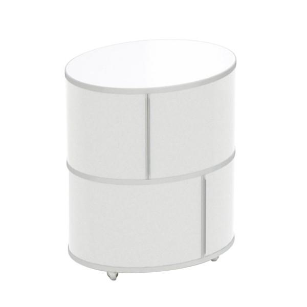WOGG 17 LIVA Ellipsetower Rollcontainer 105_17-0X2