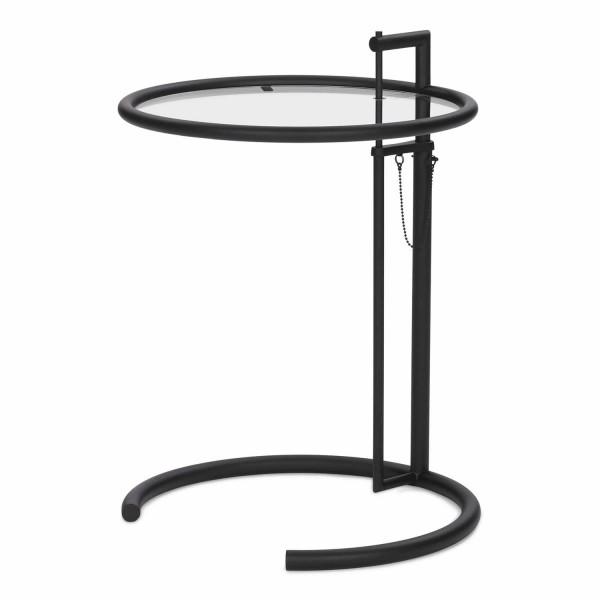 ClassiCon Adjustable Table E 1027 Black Version Beistelltisch 121_E1027-Black