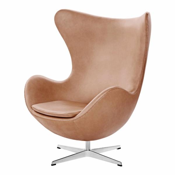 Fritz Hansen DAS EI / EGG 3316 Rustik Edition Sessel Ausstellungsstück 13_3316_Rustik_O