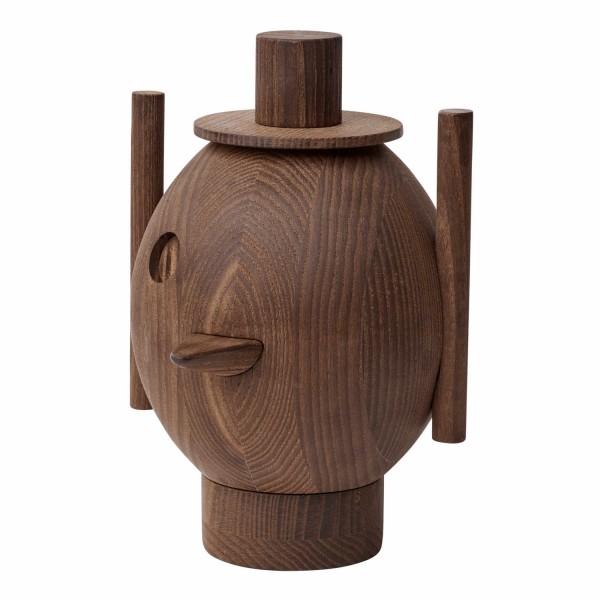 Fritz Hansen GEO #1 Wooden sculpture Holzskulptur 13_840280