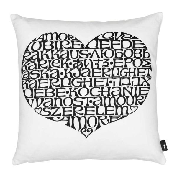 Vitra Graphic Print International Love Heart Kissen 20_20165X