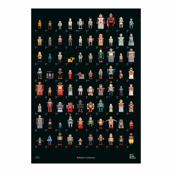 Vitra R.F Robot Collection Poster 20_20550431