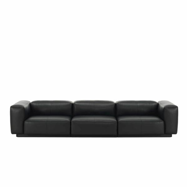 Vitra Soft Modular 3er Sofa Leder 20_21040004