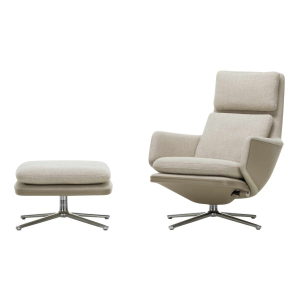Vitra Grand Relax and Ottoman Fabric Sessel 20_21059200-F