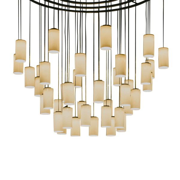 Santa and Cole Cirio Chandelier S/M/L LED Kronleuchter 350_CIC