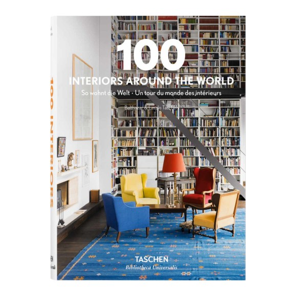 TASCHEN Verlag 100 Interiors Around the World Designbuch 369_6923328