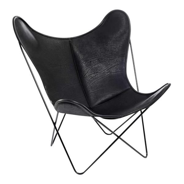 Manufaktur Plus Hardoy Butterfly Chair Biobüffel-Leder Sessel 371_HBC_BUEFFEL