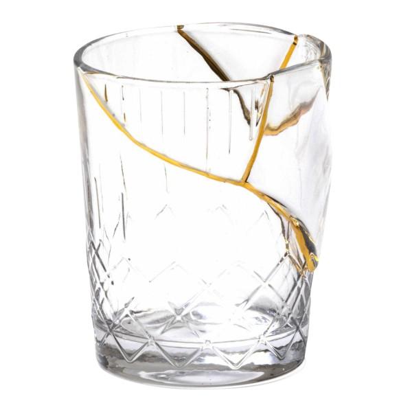 SELETTI Kintsugi Glass Trinkglas 379_09656