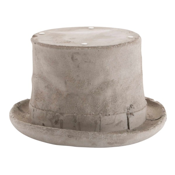 SELETTI Concrete Chapeau Zylinder Skulptur 379_10091