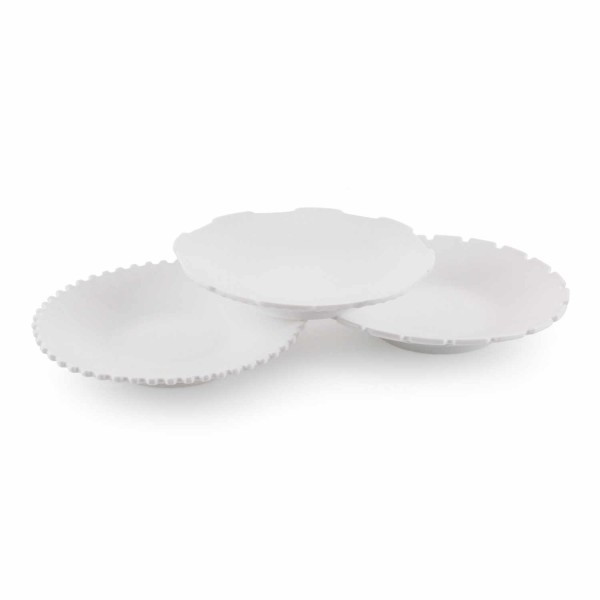 DIESEL LIVING with SELETTI Soup Bowl Set Machine Collection 3er-Set Suppenteller 381_10914