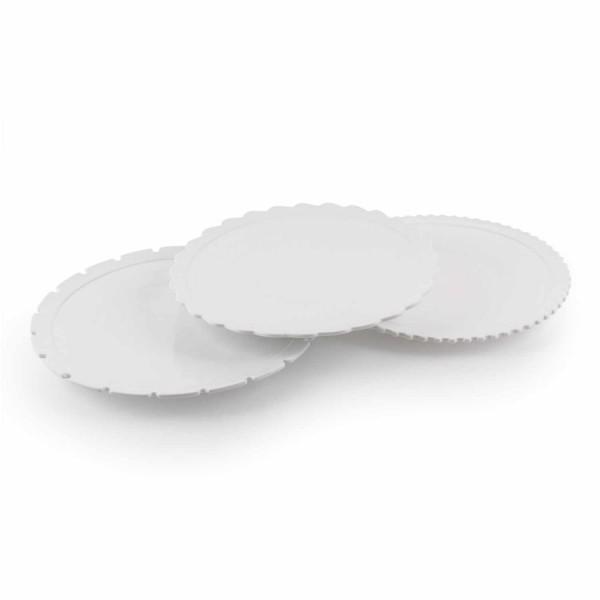 DIESEL LIVING with SELETTI Dinner Plate Set Machine Collection 3er-Set Speiseteller 381_10915