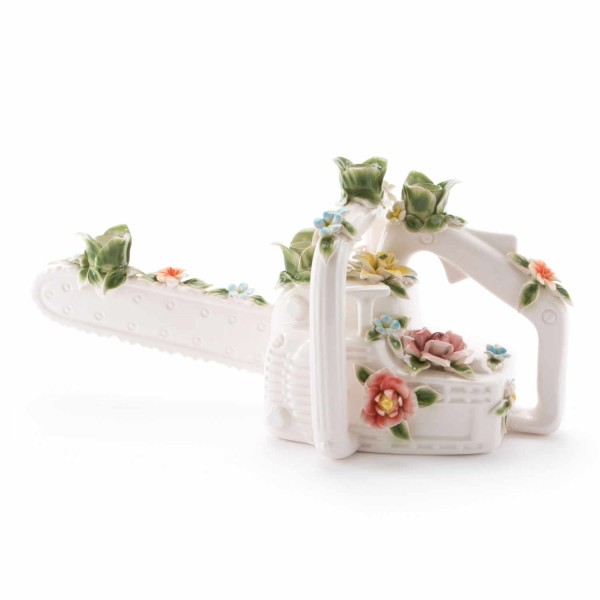 SELETTI Flower Attitude The Chainsaw Kerzenständer 379_14062