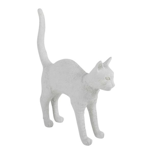 BLOW by JOBandSELETTI Jobby white Cat Lamp Akku-Tischleuchte 380_15040