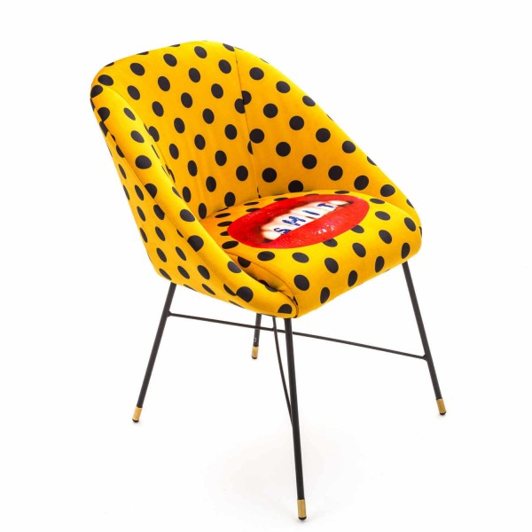 SELETTI Padded Toiletpaper Chair Stuhl 379_160XX